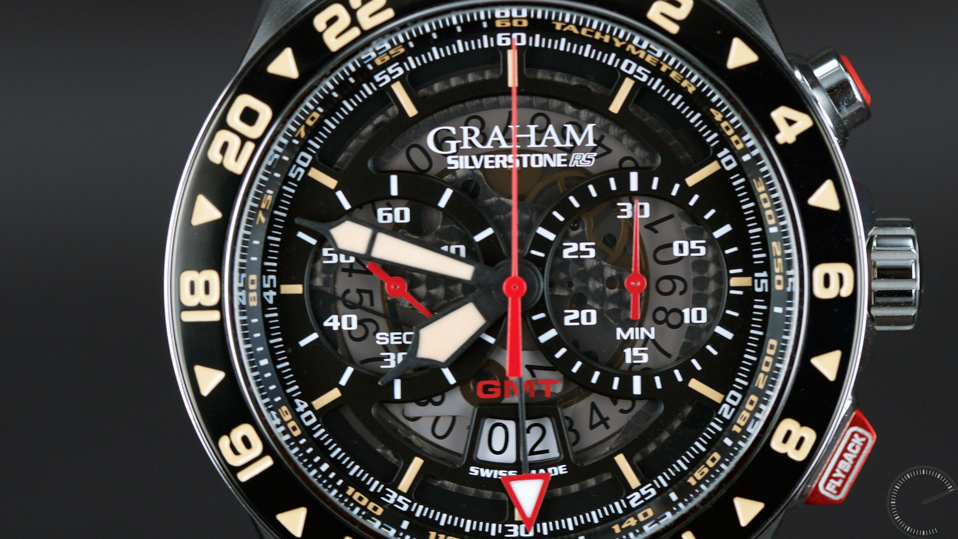 Graham Silverstone RS GMT - ESCAPEMENT watch blog by Angus Davies
