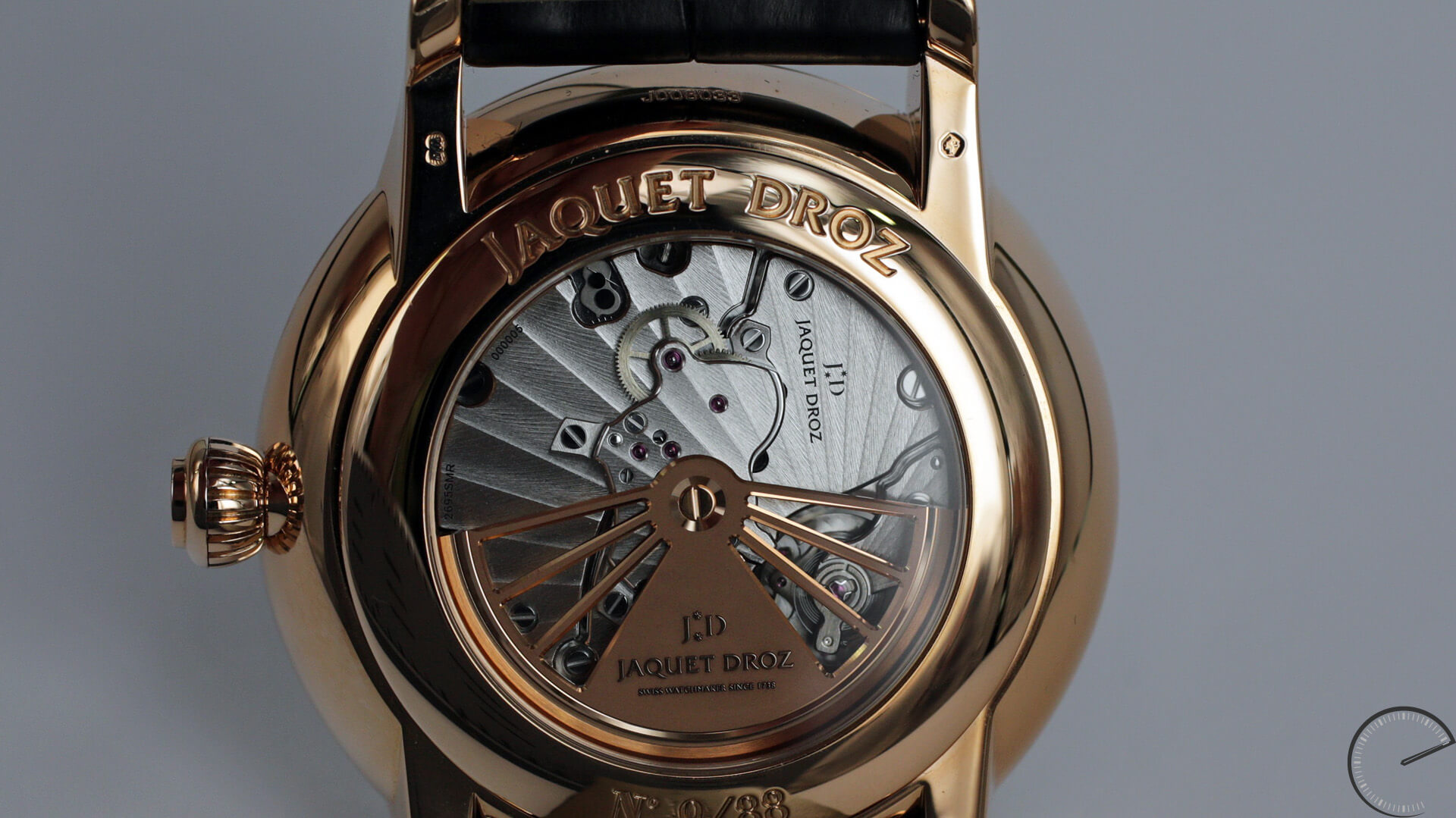 Jaquet_Droz_Grande_Seconde_Deadbeat_back - ESCAPEMENT watch reviews by Angus Davies