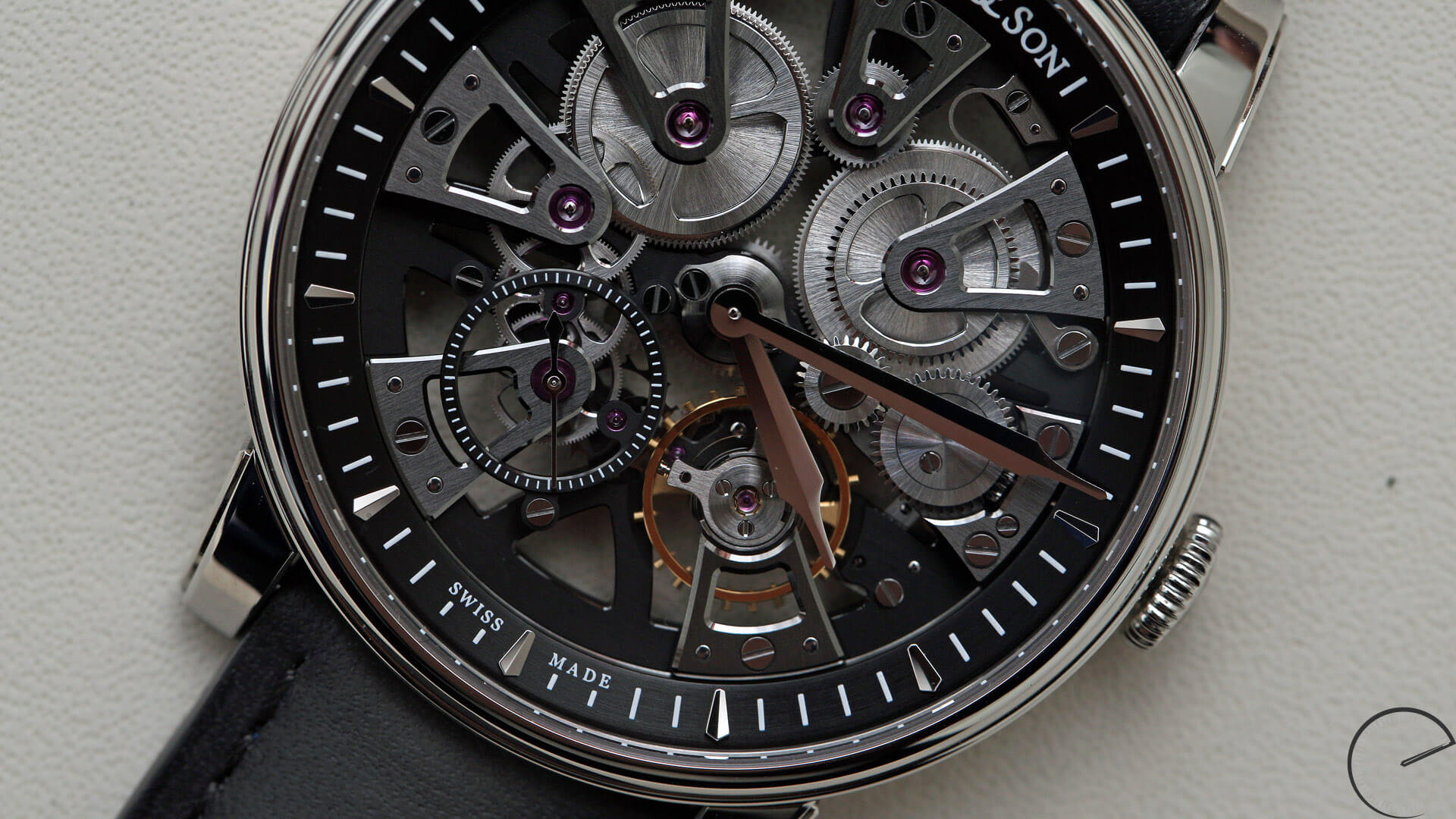Arnold_and_Son_Nebula_closeup - ESCAPEMENT watch blog - reviews by Angus Davies