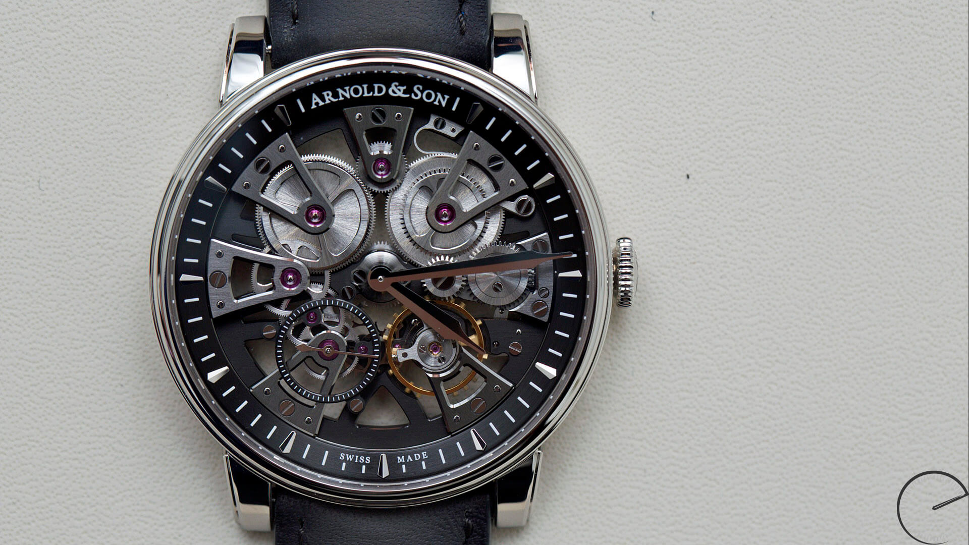Arnold_and_Son_Nebula_dial - ESCAPEMENT magazine - watch reviews by Angus Davies