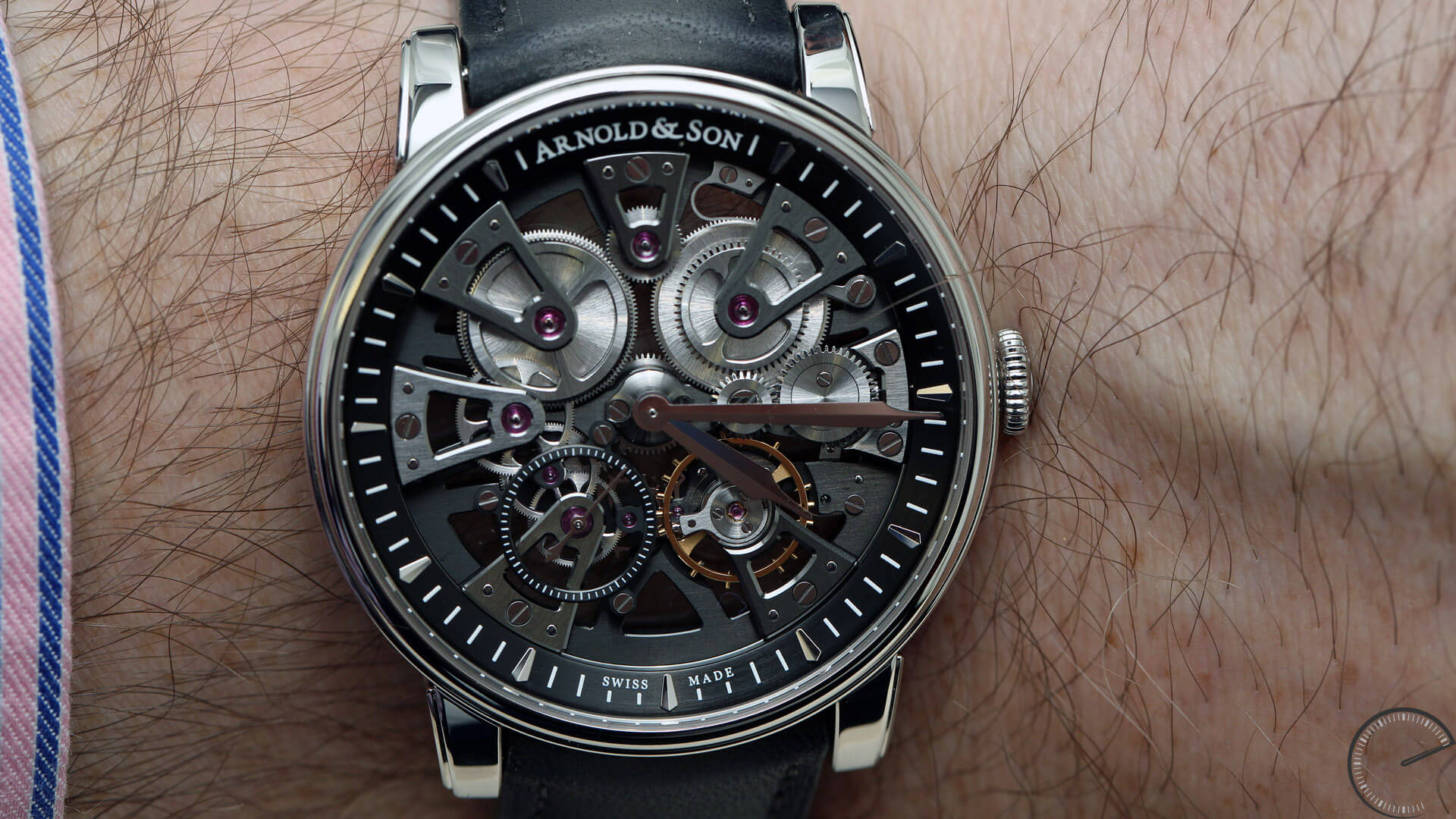 Arnold_and_Son_Nebula_wrist - ESCAPEMENT watch blog - watch reviews by Angus Davies