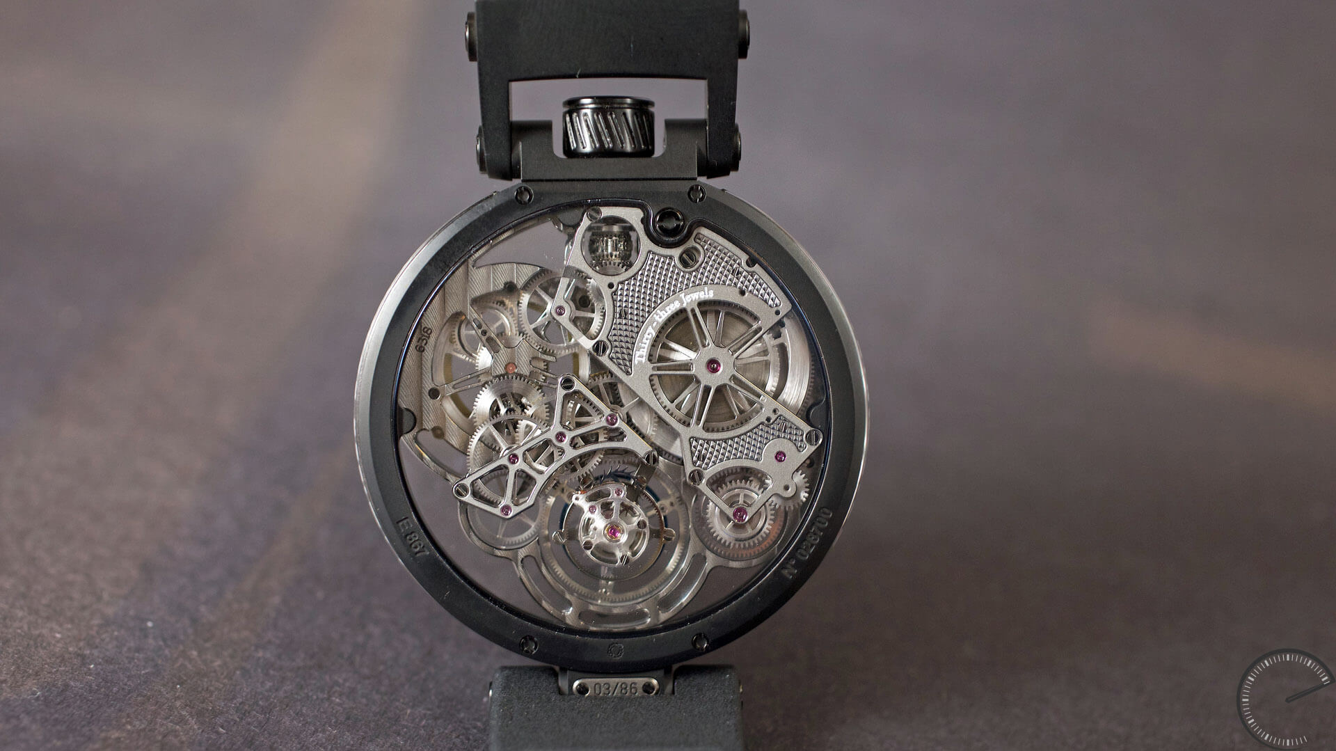 Bovet_Flying_Tourbillon_Ottanta_Sei_Caseback - ESCAPEMENT magazine - watch blog by Angus Davies