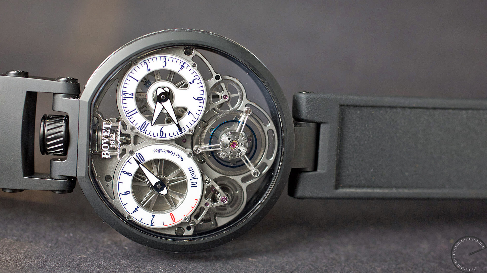 Bovet_Flying_Tourbillon_Ottanta_Sei_Sideview - ESCAPEMENT magazine - hands-on reviews by Angus Davies
