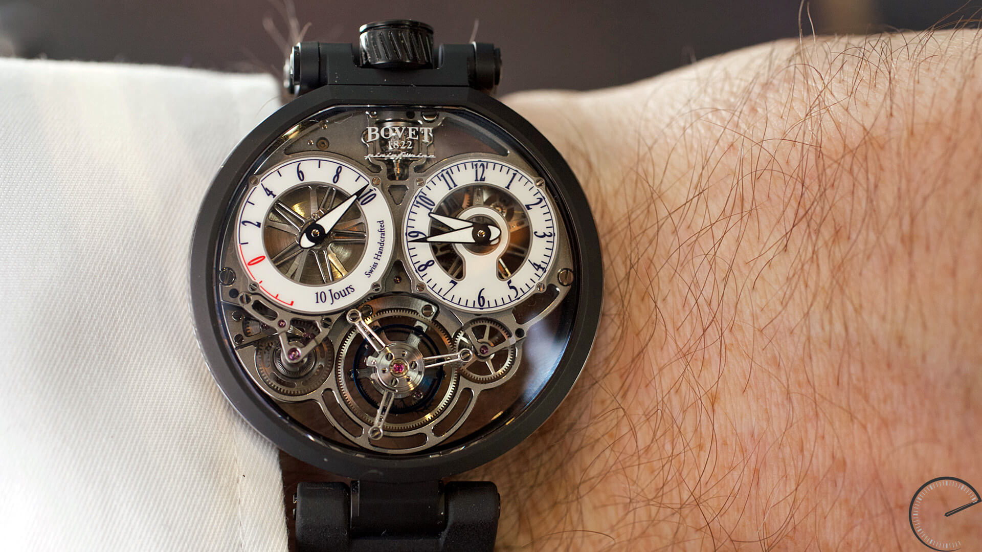 Bovet_Flying_Tourbillon_Ottanta_Sei_Wrist2 - ESCAPEMENT magazine - watch reviews by Angus Davies