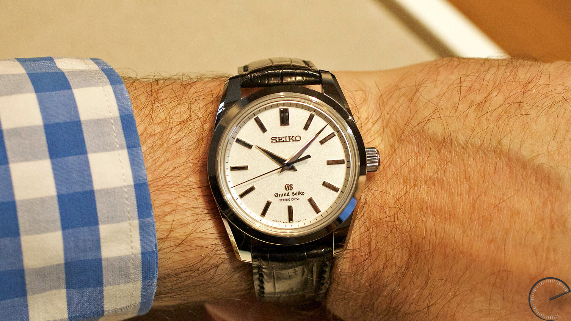 Grand_Seiko_Spring_Drive_8_day_Power_Reserve_SBGD001_wrist - ESCAPEMENT magazine - watch blog by Angus Davies