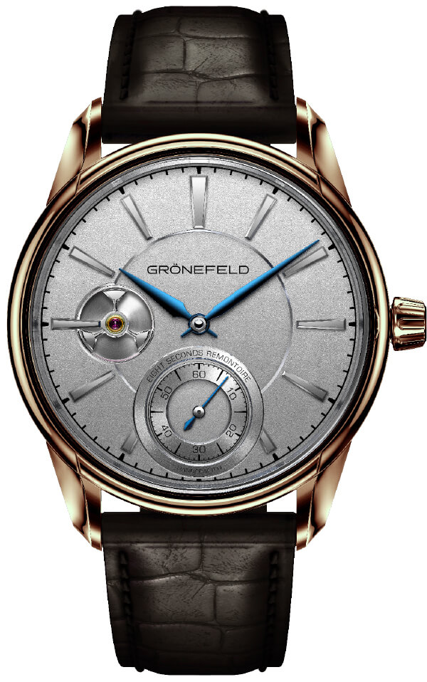Gronefeld_1941_Remontoire_Red_Gold_front - ESCAPEMENT magazine - reviews of fine watches