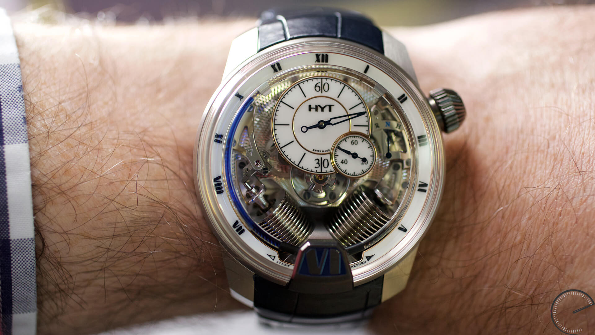 HYT_H2_Tradition_wrist1 - ESCAPEMENT Magazine - watch reviews by Angus Davies