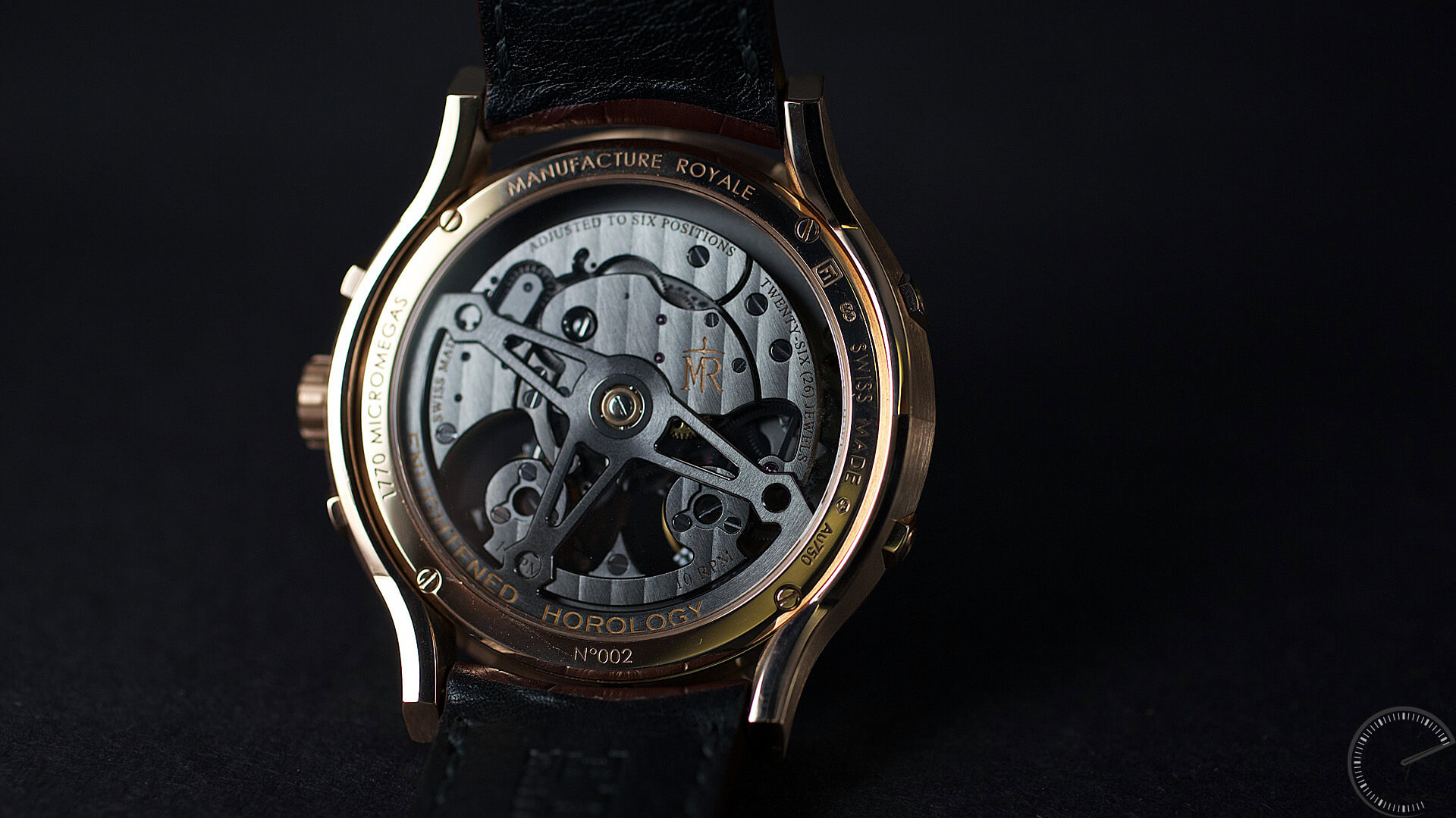 Manufacture Royale 1770 Micromegas_caseback - ESCAPEMENT magazine - watch blog by Angus Davies