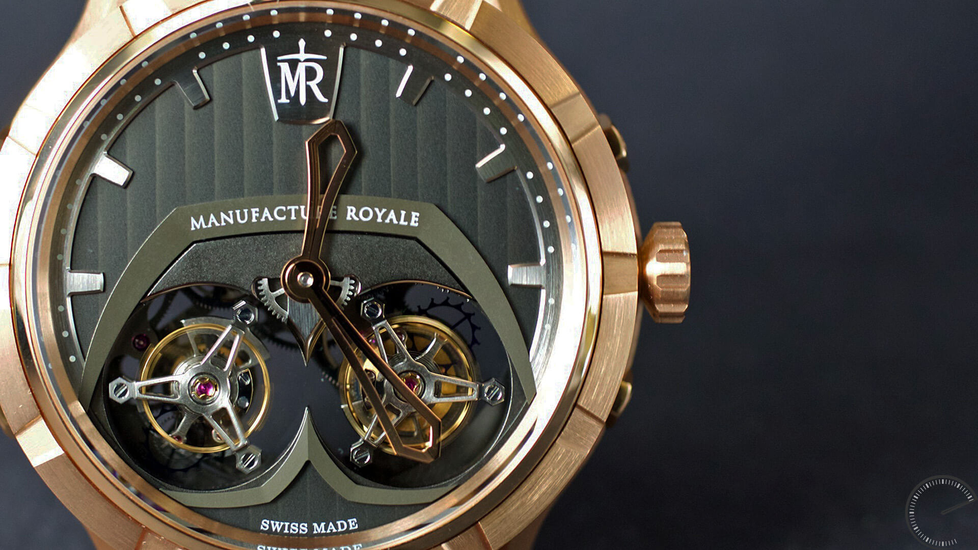 Manufacture Royale 1770 Micromegas_dial - ESCAPEMENT magazine - hands-on watch reviews by Angus Davies