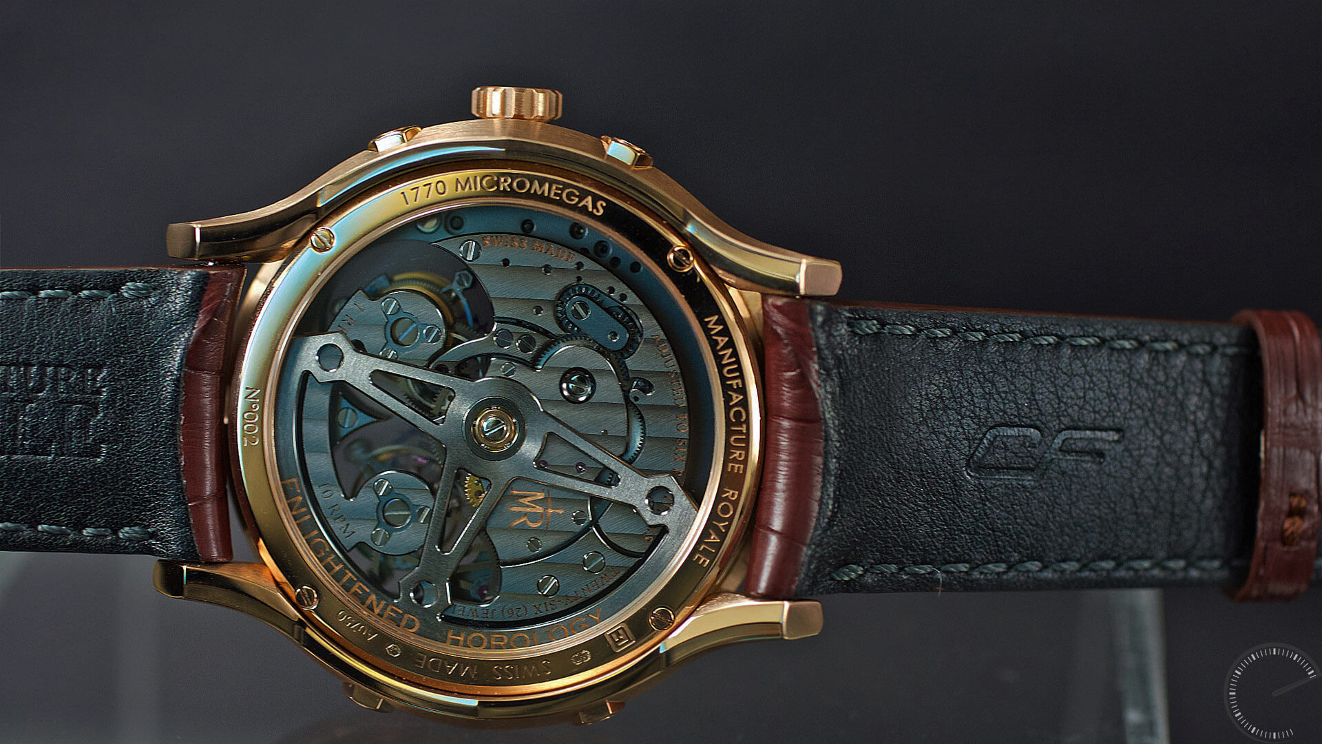 Manufacture Royale 1770 Micromegas_movement - ESCAPEMENT magazine - horological news by Angus Davies