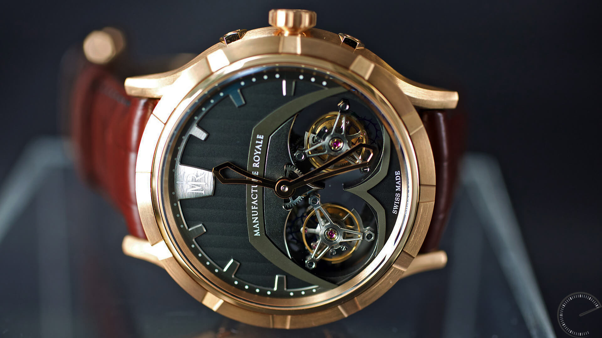 Manufacture Royale 1770 Micromegas_side - ESCAPEMENT magazine - horology website by Angus Davies