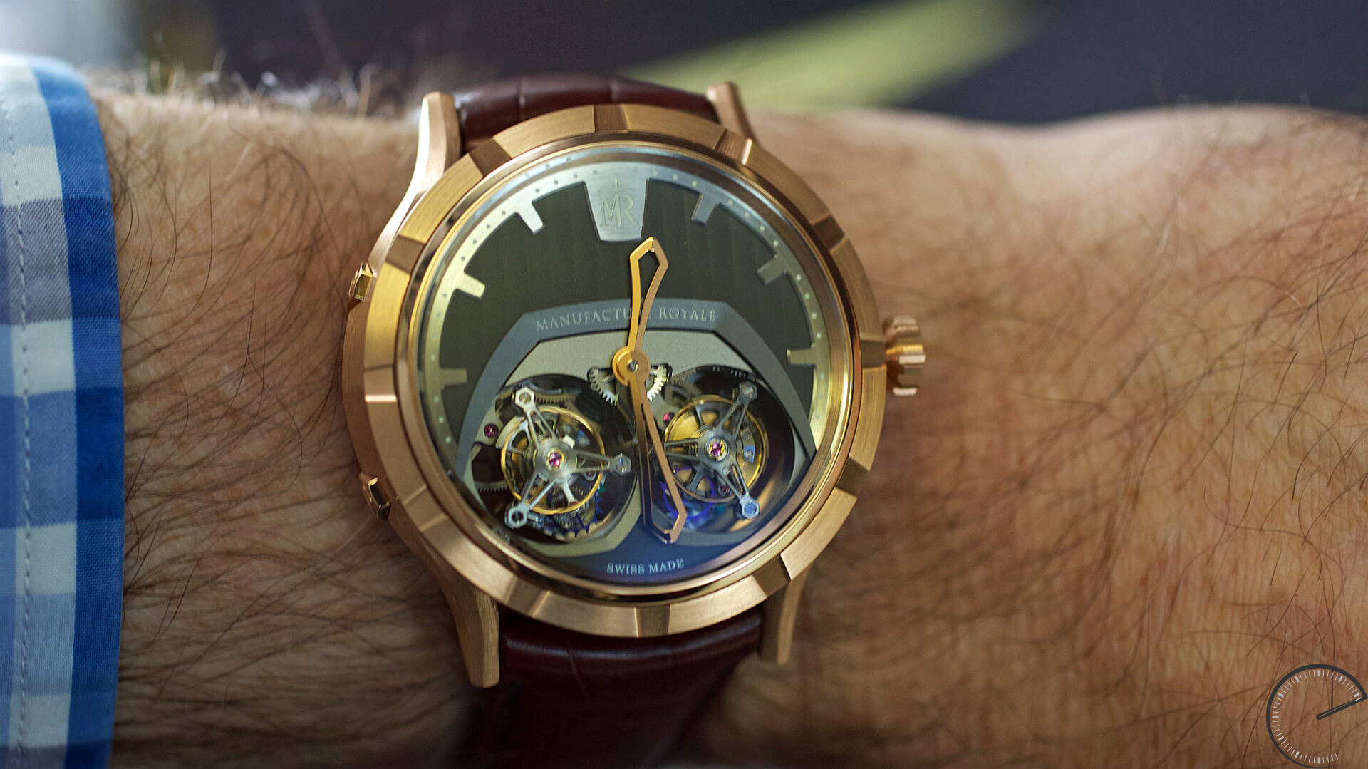 Manufacture_Royale_1770_ Micromegas_wrist - ESCAPEMENT magazine - watch reviews by Angus Davies