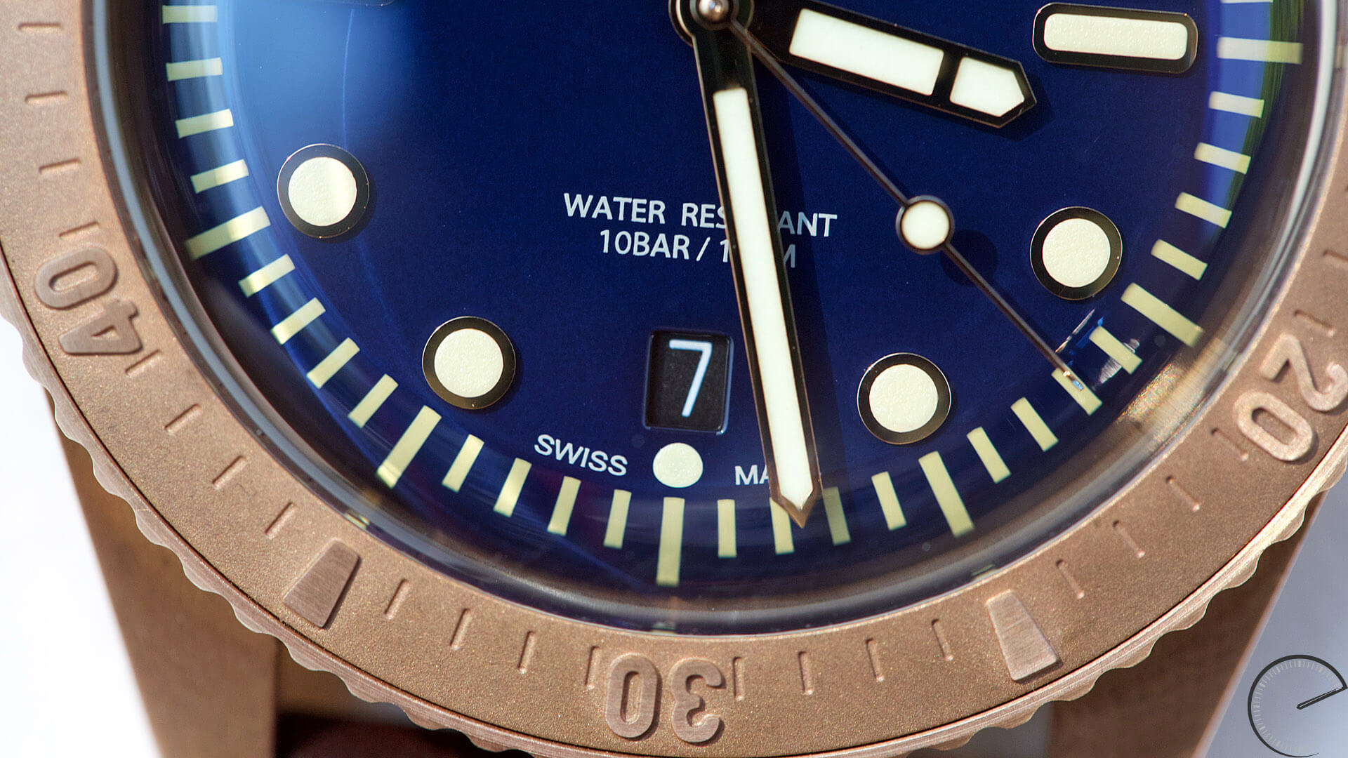 Oris_Carl_Brashear_Limited_Edition_dial_detail - ESCAPEMENT Magazine - watch blog by Angus Davies