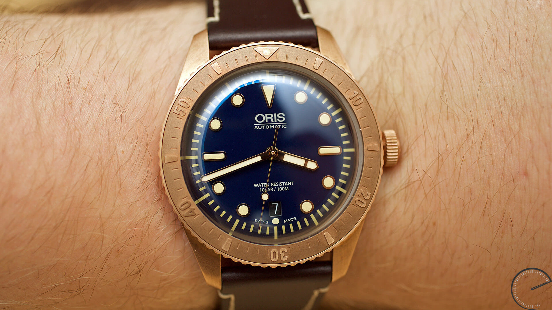 Oris_Carl_Brashear_Limited_Edition_wrist - ESCAPEMENT Magazine - watch review website by Angus Davies