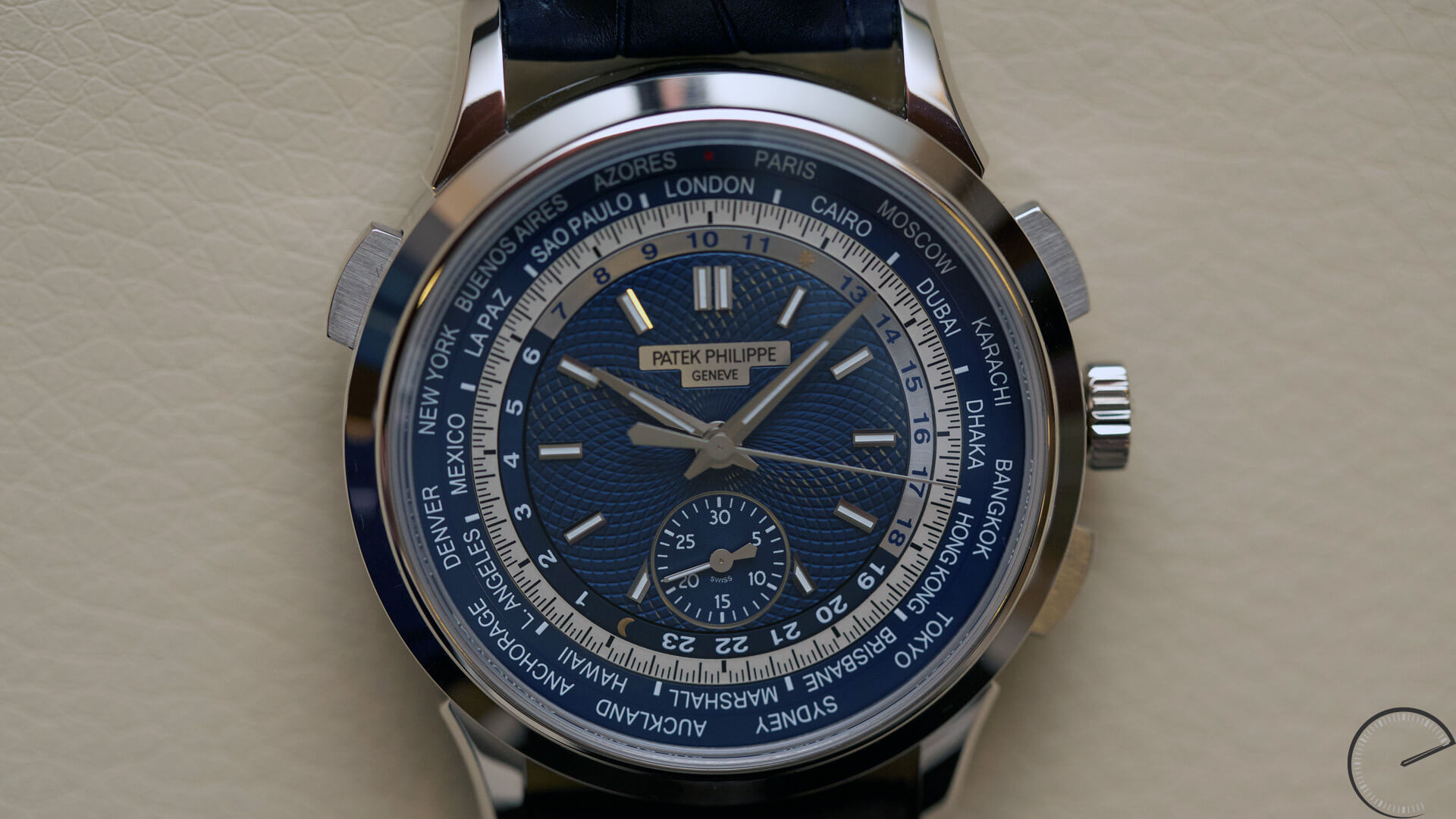 Patek_Philippe_World_Time_Chronograph_Ref. 5930_dial2 - ESCAPEMENT Magazine - watch reviews by Angus Davies