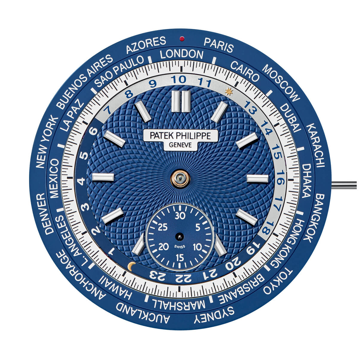 Patek_Philippe_World_Time_Chronograph_Ref. 5930_dial3 - ESCAPEMENT Magazine - watch reviews by Angus Davies