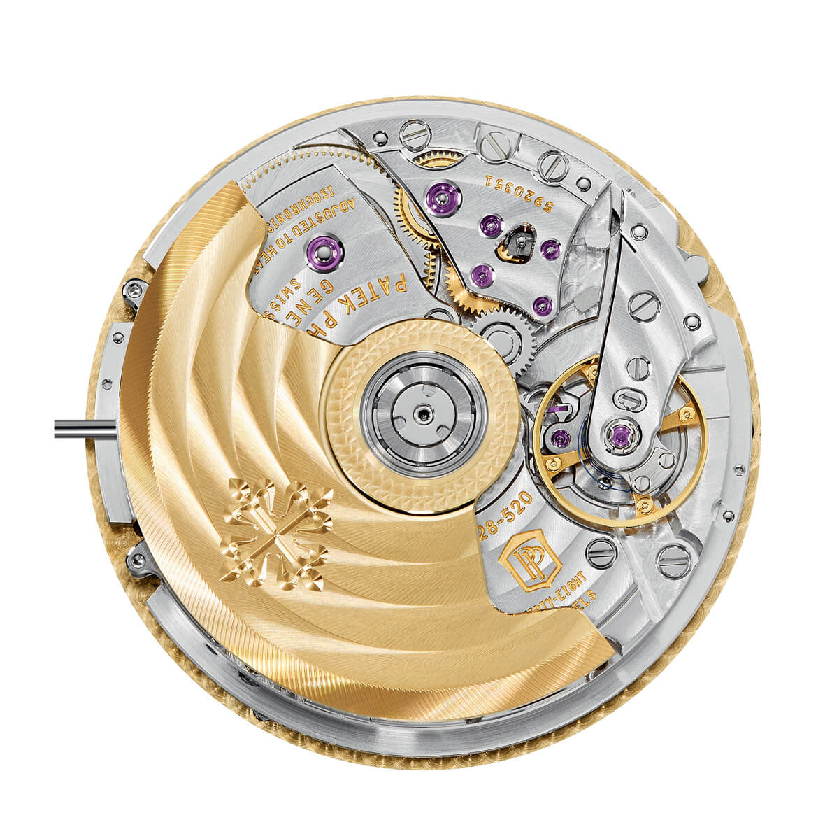 Patek_Philippe_World_Time_Chronograph_Ref. 5930_movement - ESCAPEMENT Magazine - watch reviews by Angus Davies