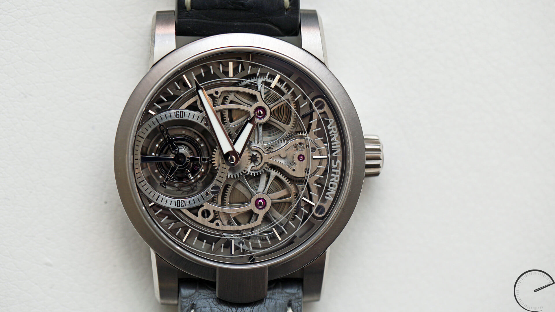Armin_Strom_Tourbillon_Skeleton_Air_dial1 - ESCAPEMENT magazine - watch reviews for purists by Angus Davies