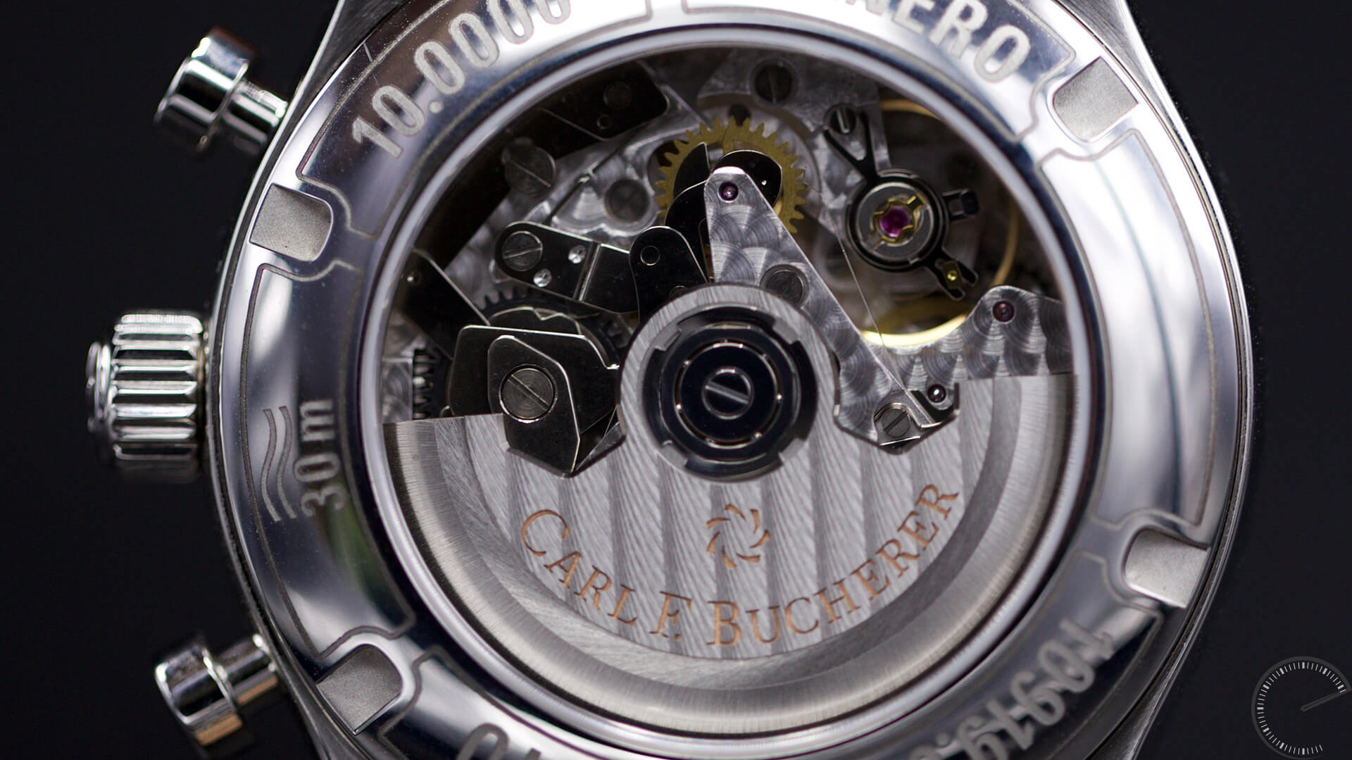 Carl_F._Bucherer_Manero_Flyback_CFB_1970_Caliber - ESCAPEMENT MAGAZINE - watch reviews by Angus Davies