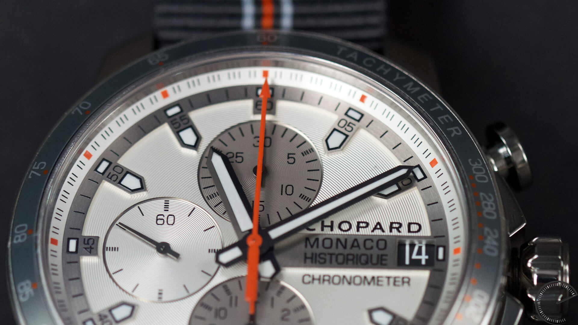 Chopard_GPMH_2016_Race_Edition_Titanium_Steel_dial2 - ESCAPEMENT MAGAZINE - watch reviews by Angus Davies