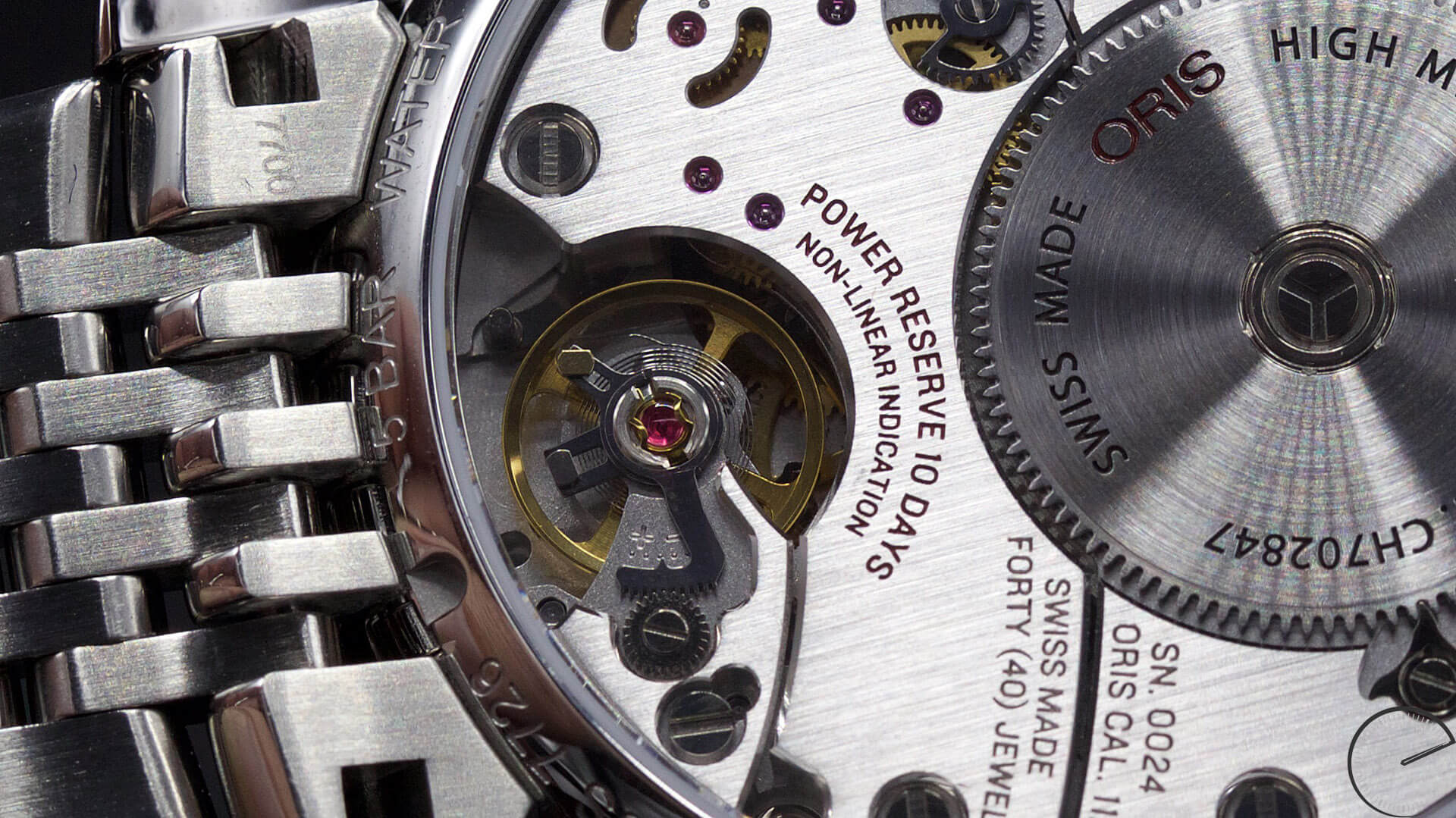 Oris_Artelier_Calibre_112_balance_wheel - ESCAPEMENT MAGAZINE - watch reviews by Angus Davies