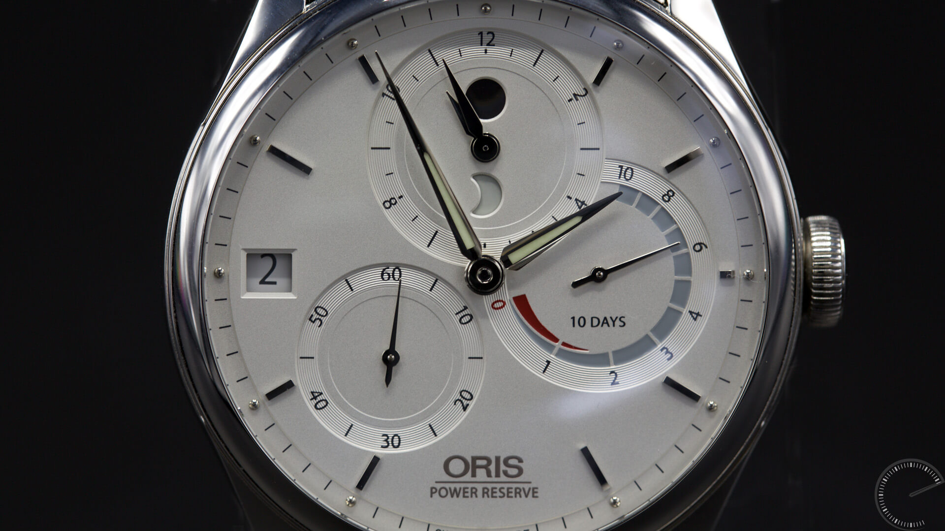Oris_Artelier_Calibre_112_dial1 - ESCAPEMENT MAGAZINE - watch reviews by Angus Davies