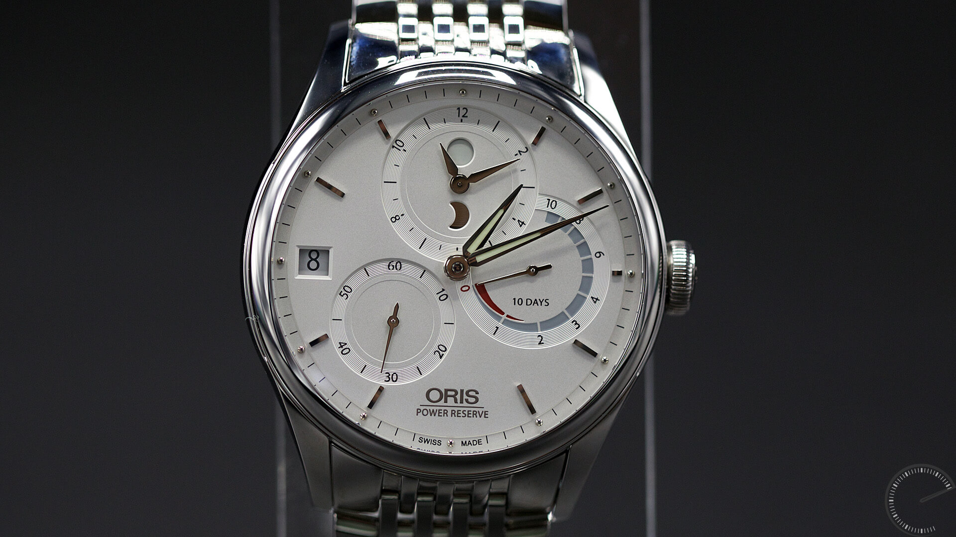 Oris_Artelier_Calibre_112_dial3 - ESCAPEMENT MAGAZINE - watch reviews by Angus Davies