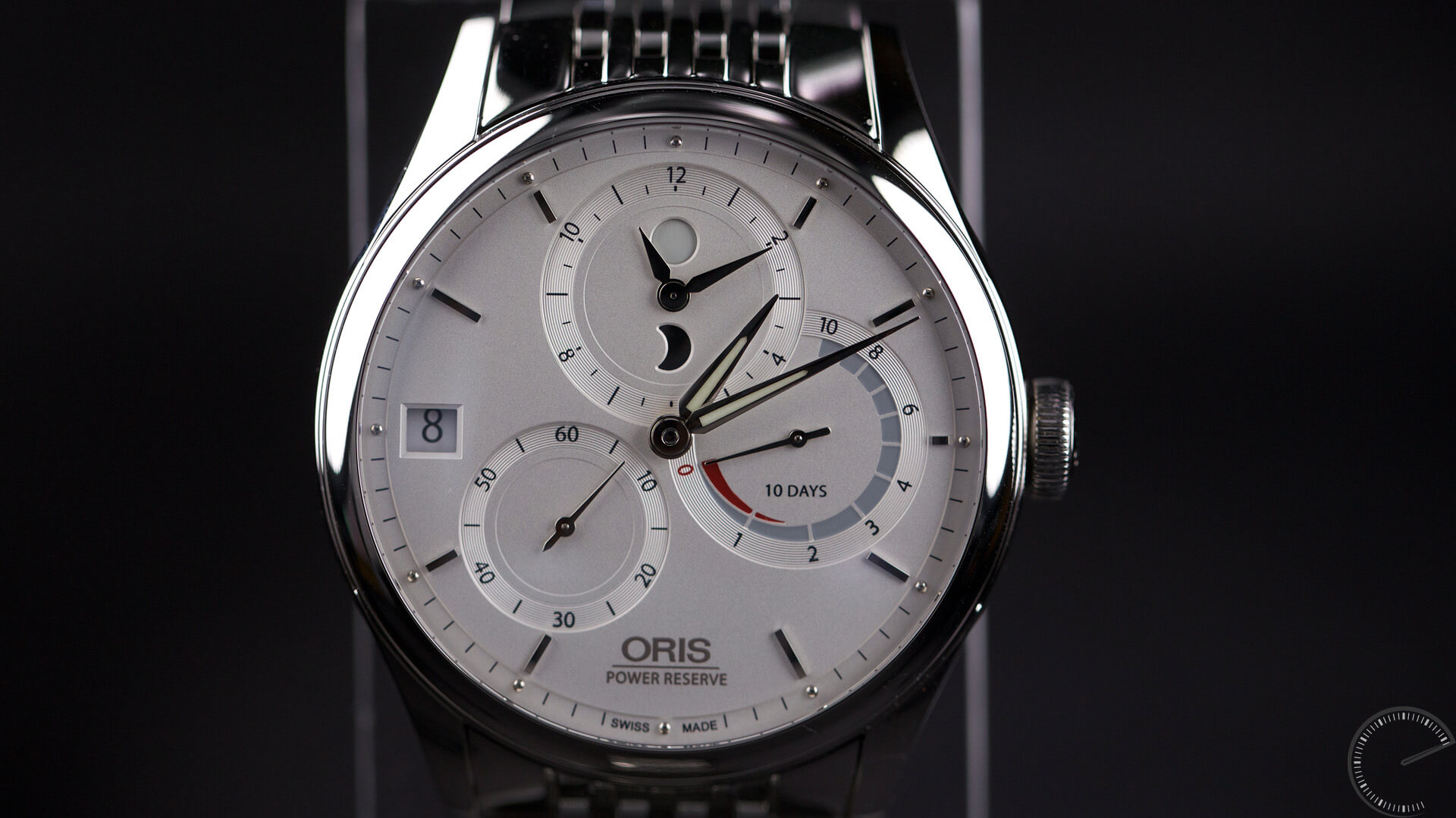 Oris_Artelier_Calibre_112_dial5 - ESCAPEMENT MAGAZINE - watch reviews by Angus Davies