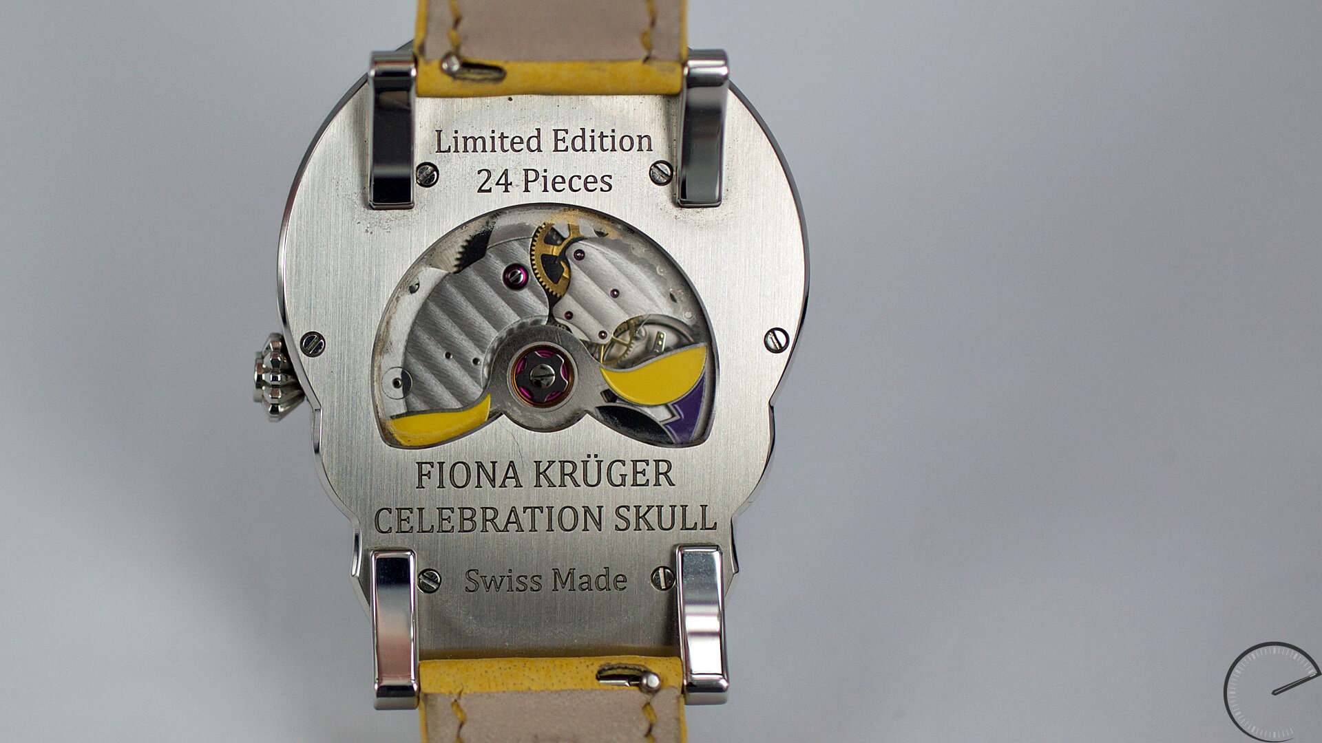 Images for profile feature on watch designer Fiona Kruger
