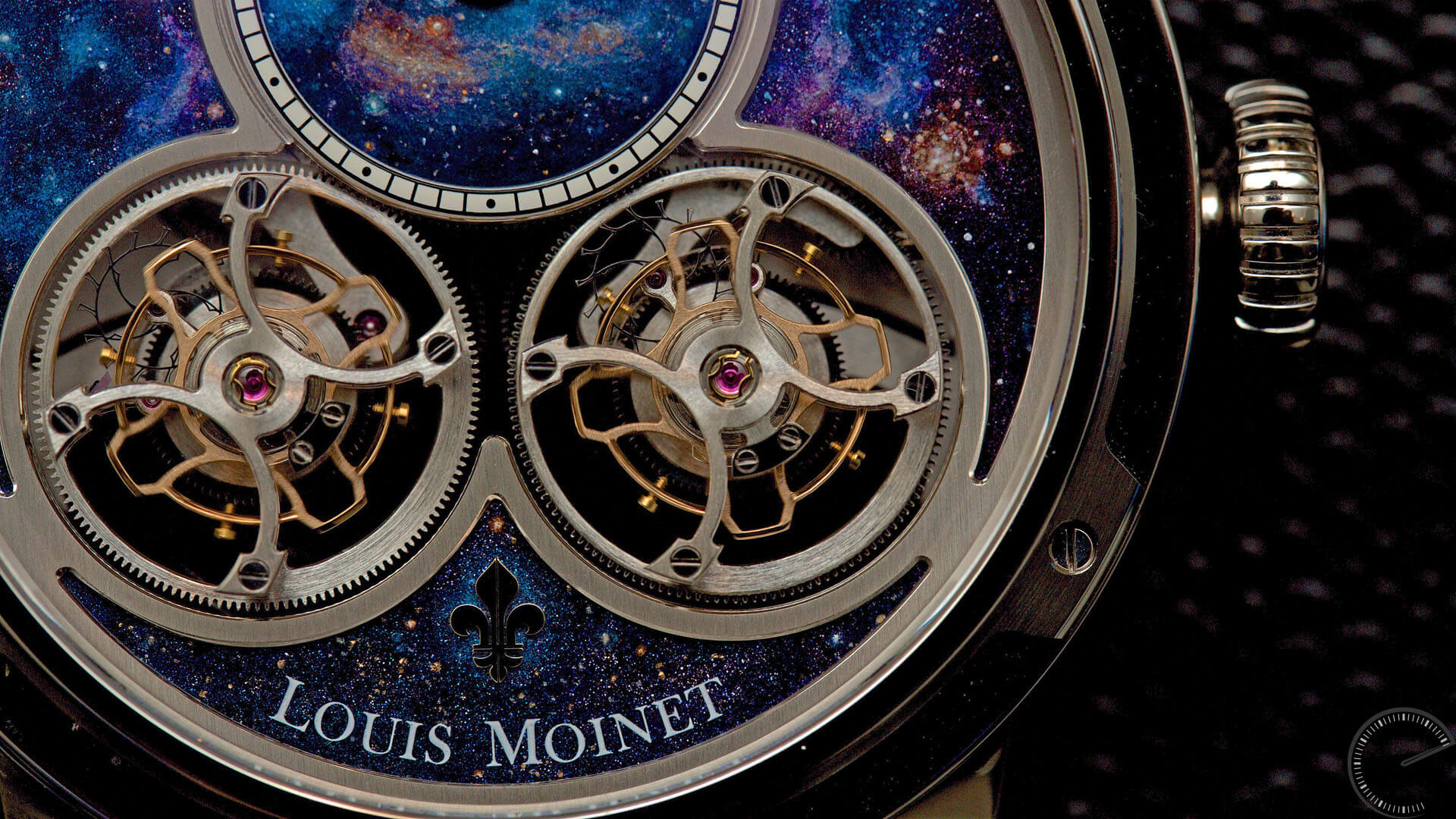 watch review picture of Louis Moinet Sideralis