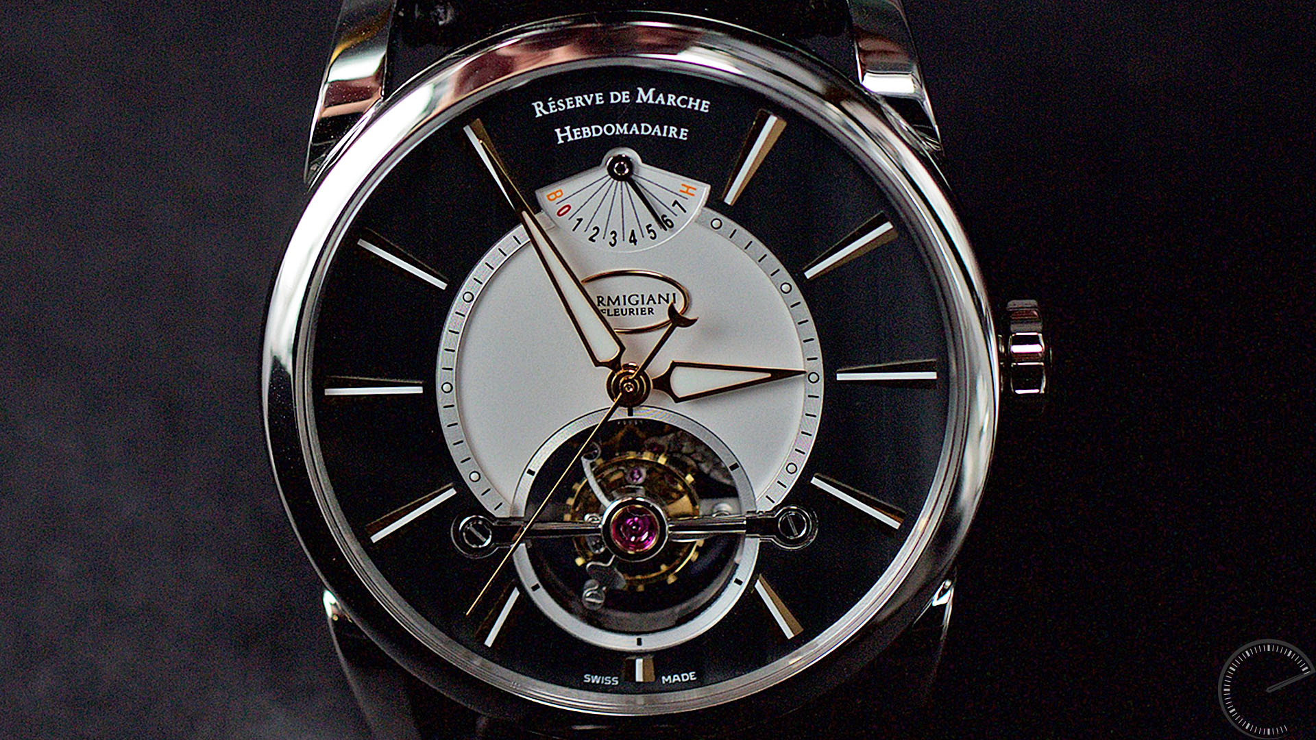 Image for wristwatch review - Parmigiani Fleurier Tourbillon