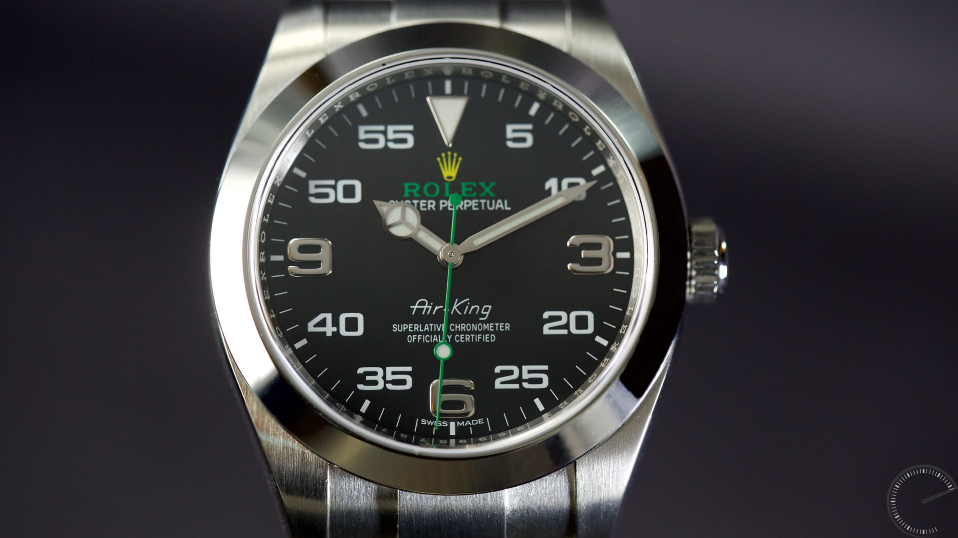 Image of Rolex Oyster Perpetual Air King, Baselworld 2016 - watch review