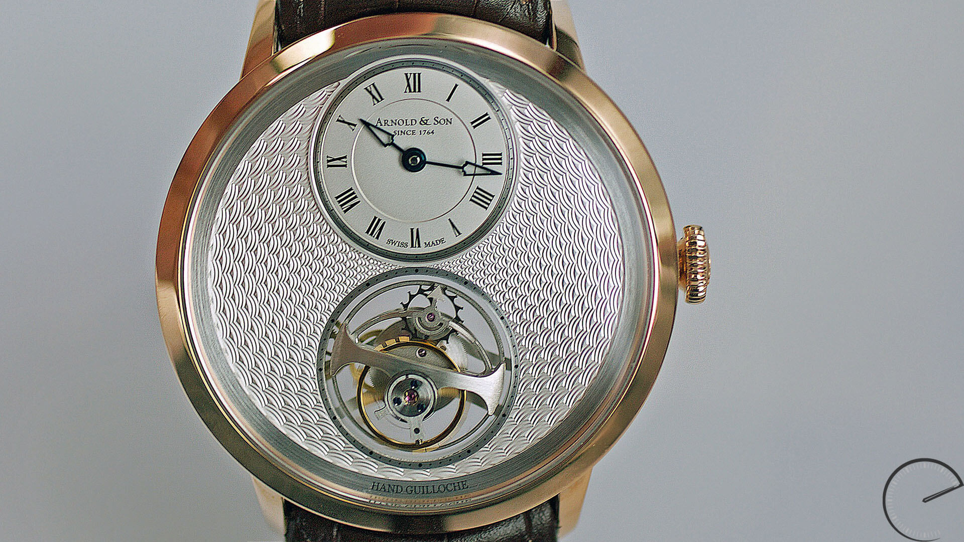 Image of Arnold & Son UTTE with guilloche dial