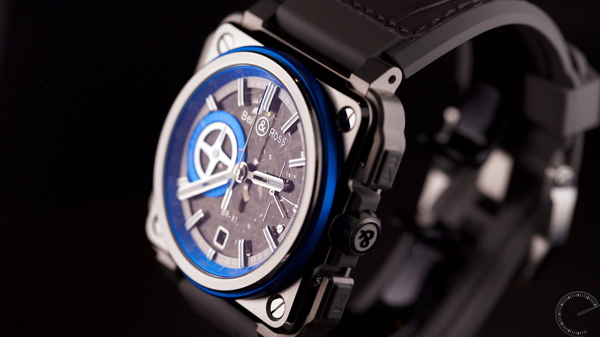 Image of Bell & Ross BR-X1 Hyperstellar - Skeleton Chronograph