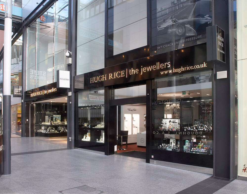 Image of Hugh Rice Jewellers - various locations throughout the UK