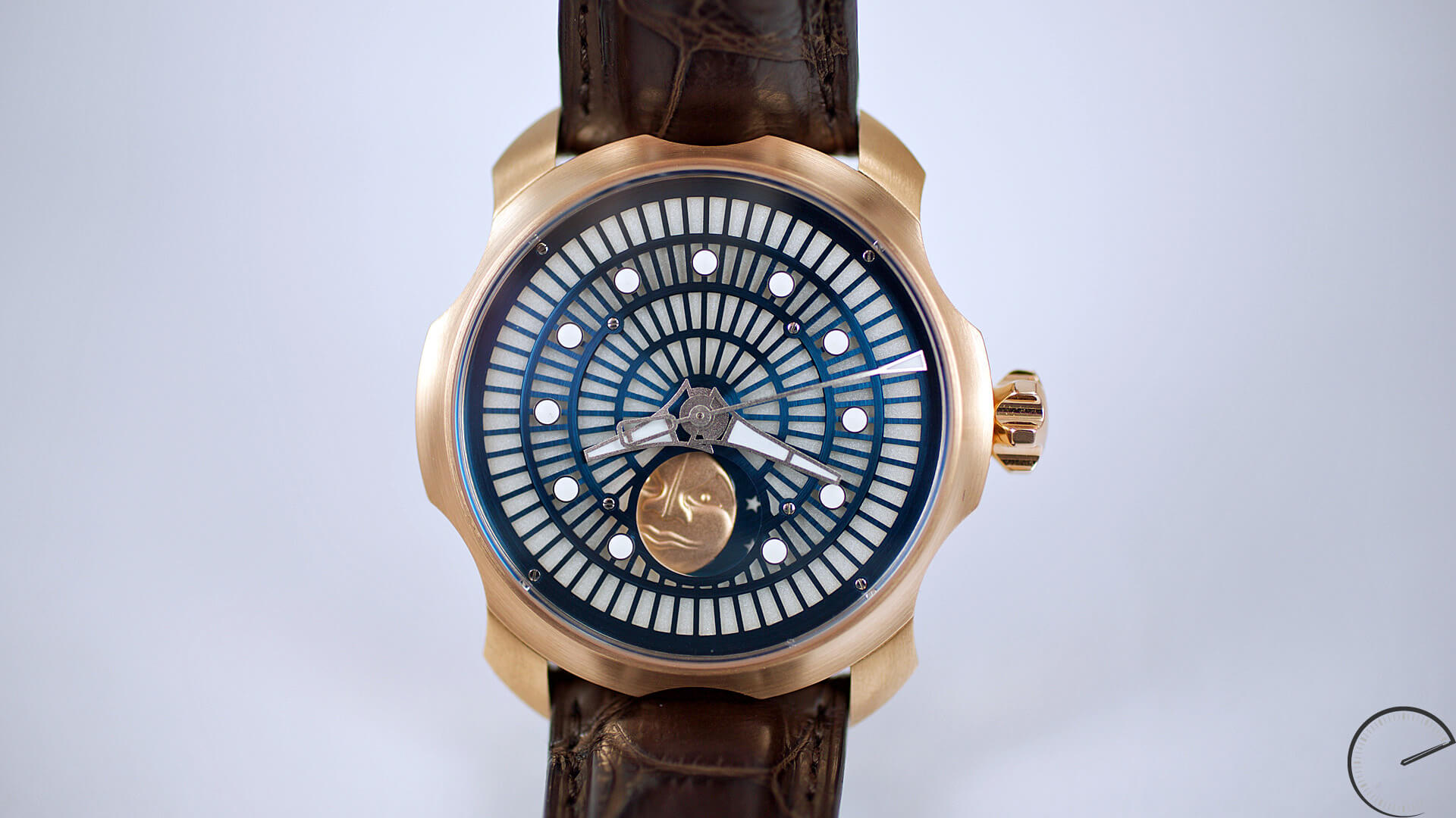 Image of Sarpaneva Watches - Northern Lights with luminescent dial