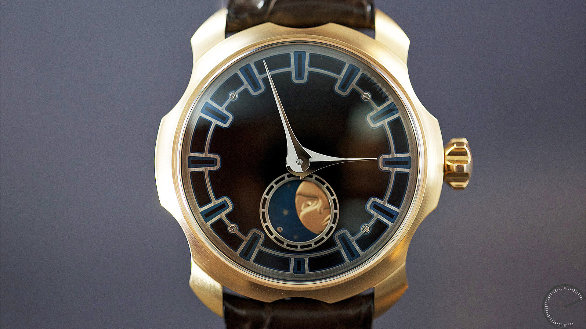 Image of Sarpaneva Watches - Northern Stars - Black Enamel dial by Donze Cadrans