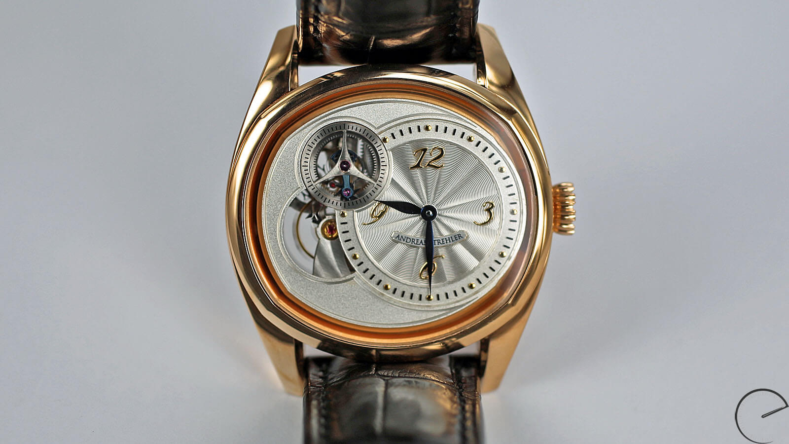Image of Andreas Strehler Sauterelle with remontoir