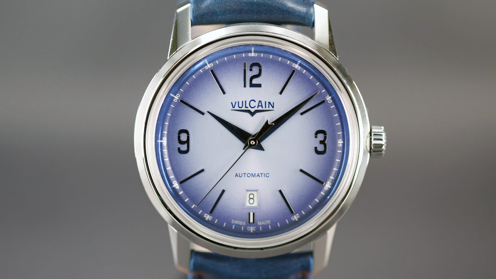 Vulcain 50s Presidents' Watch in steel