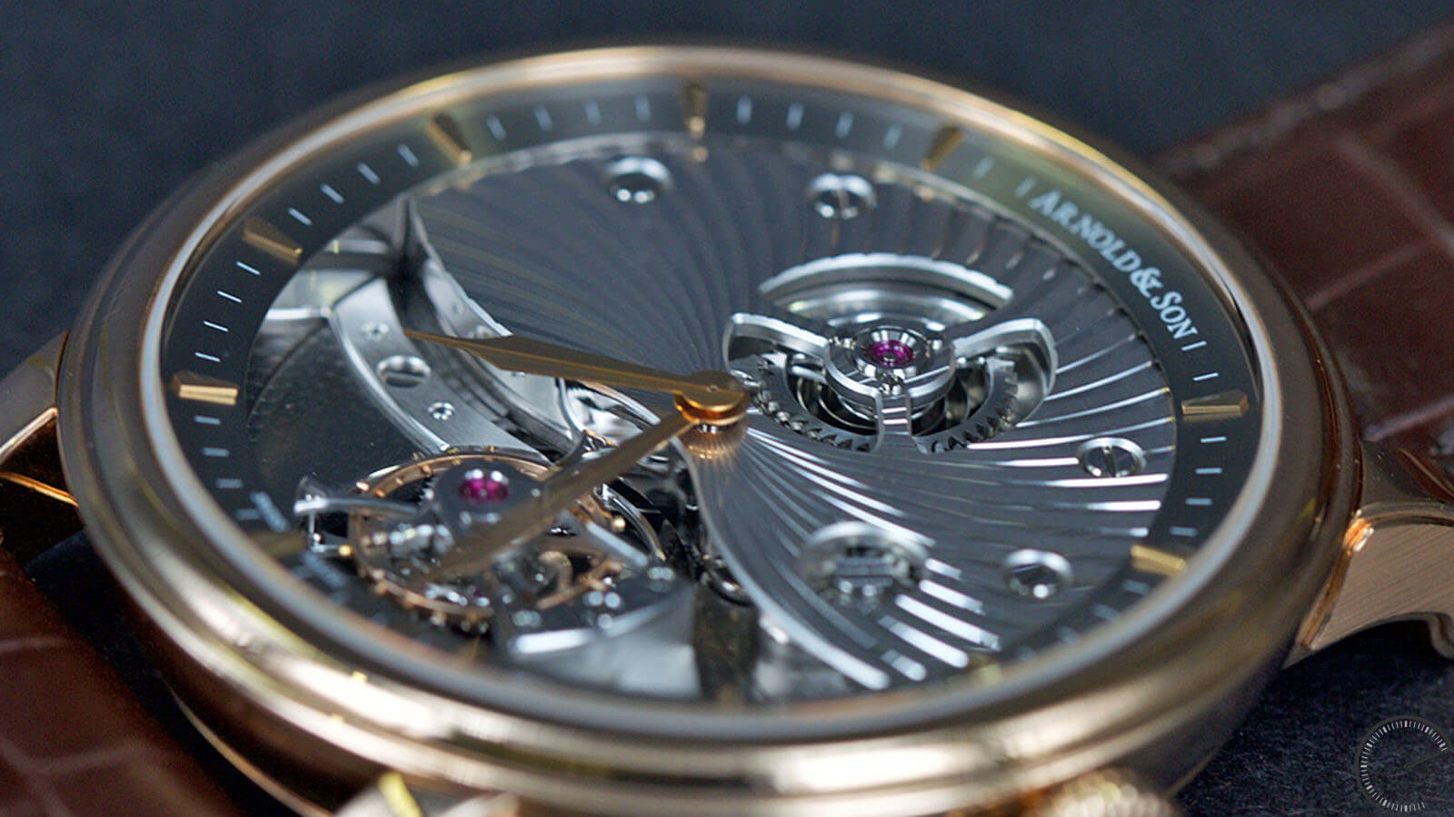 Image of Arnold & Son TE8 - Tourbillon watch