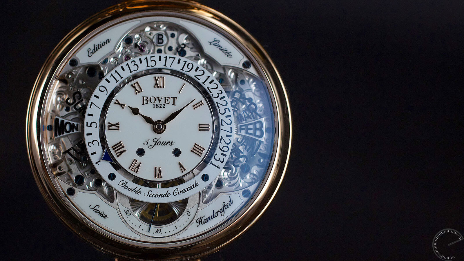 Image of Bovet Virtuoso VII - perpetual calendar with AMADEO system