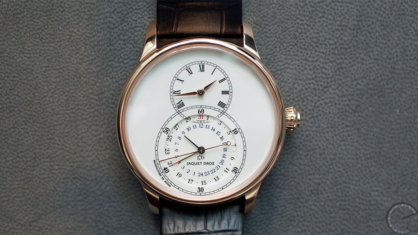 Image of Jaquet Droz Grande Seconde Dual Time