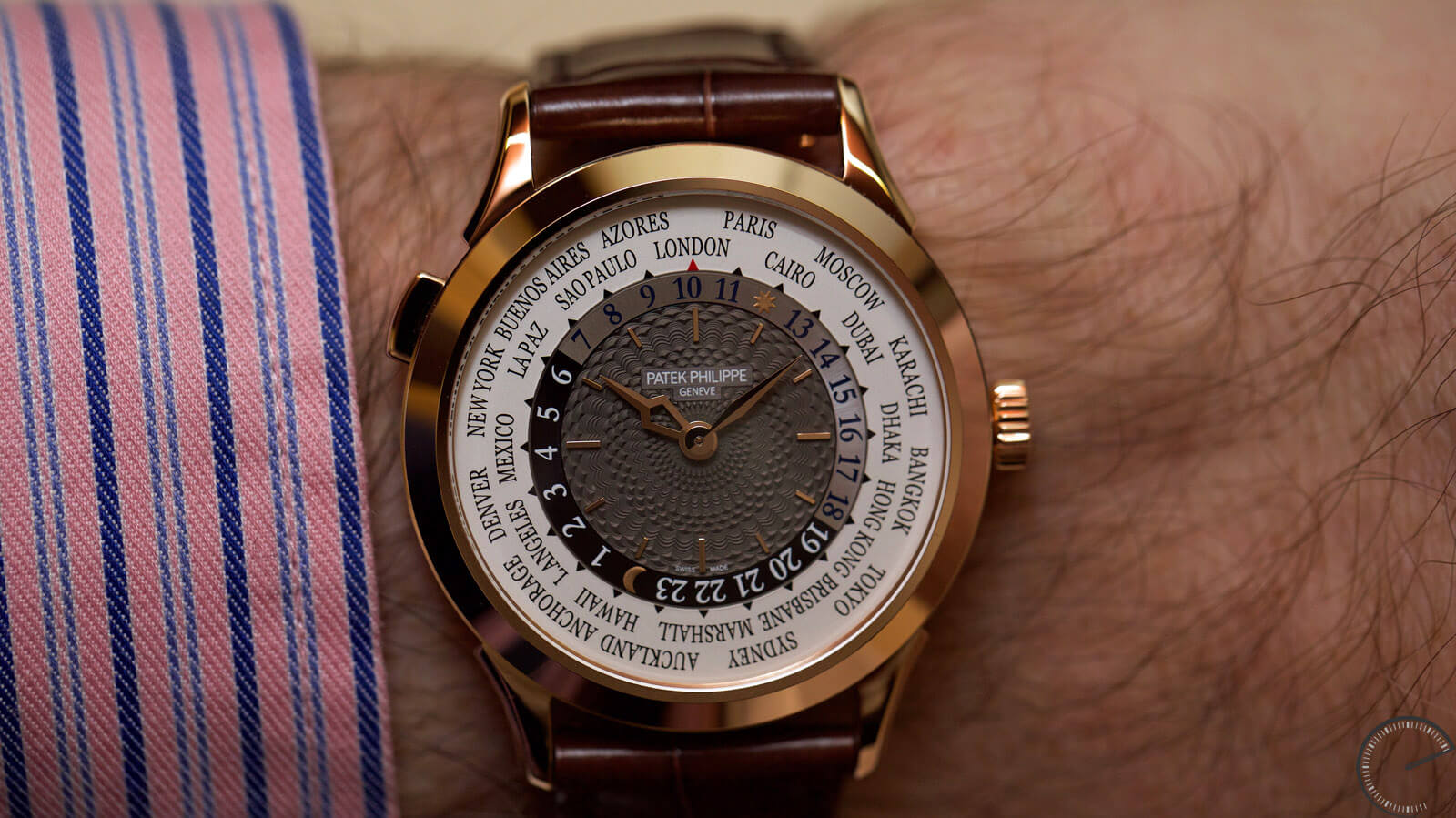 Image of Patek Philippe World Time Watch Ref. 5230R