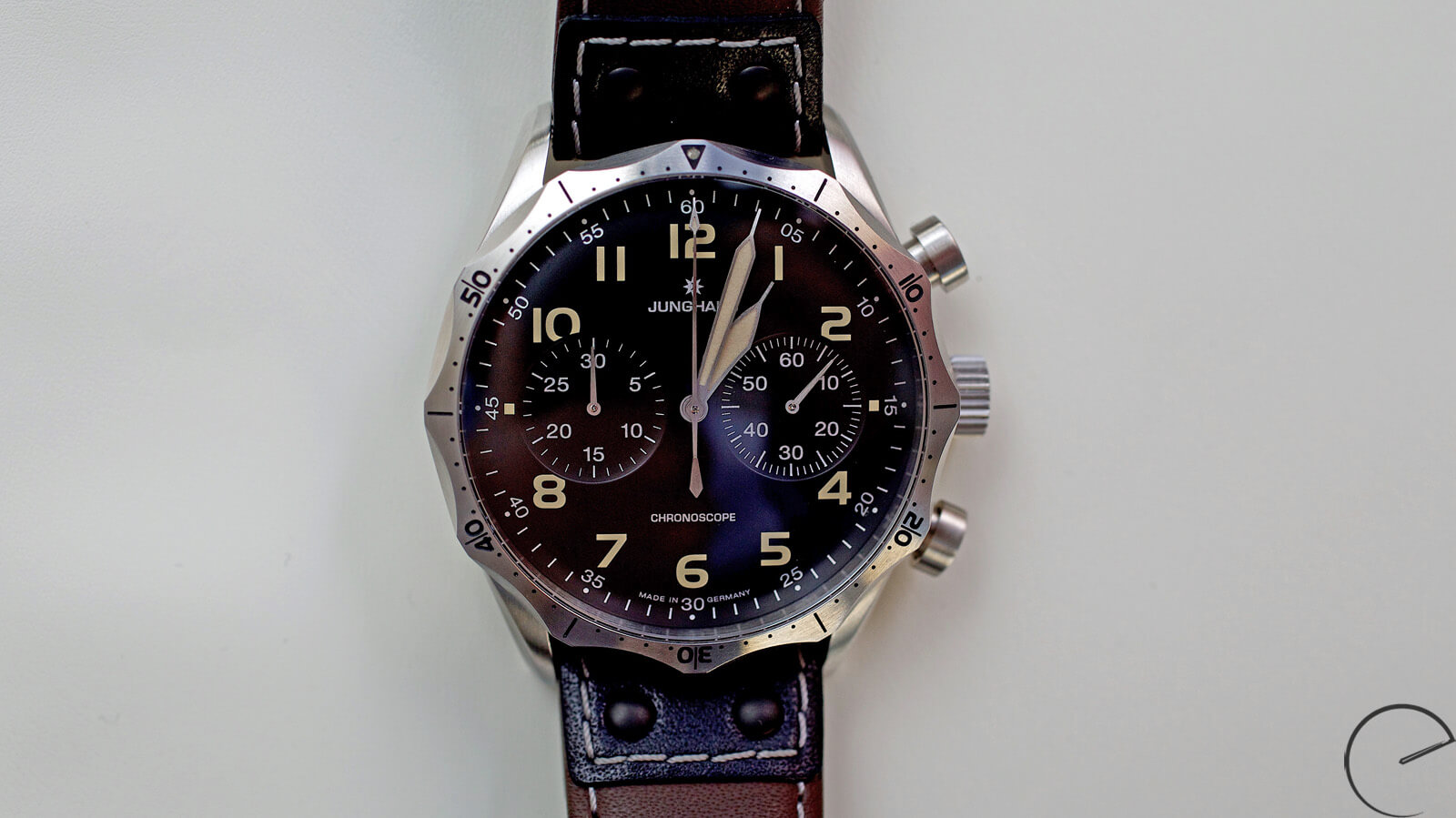 Image of Junghans Meister Pilot Chronograph