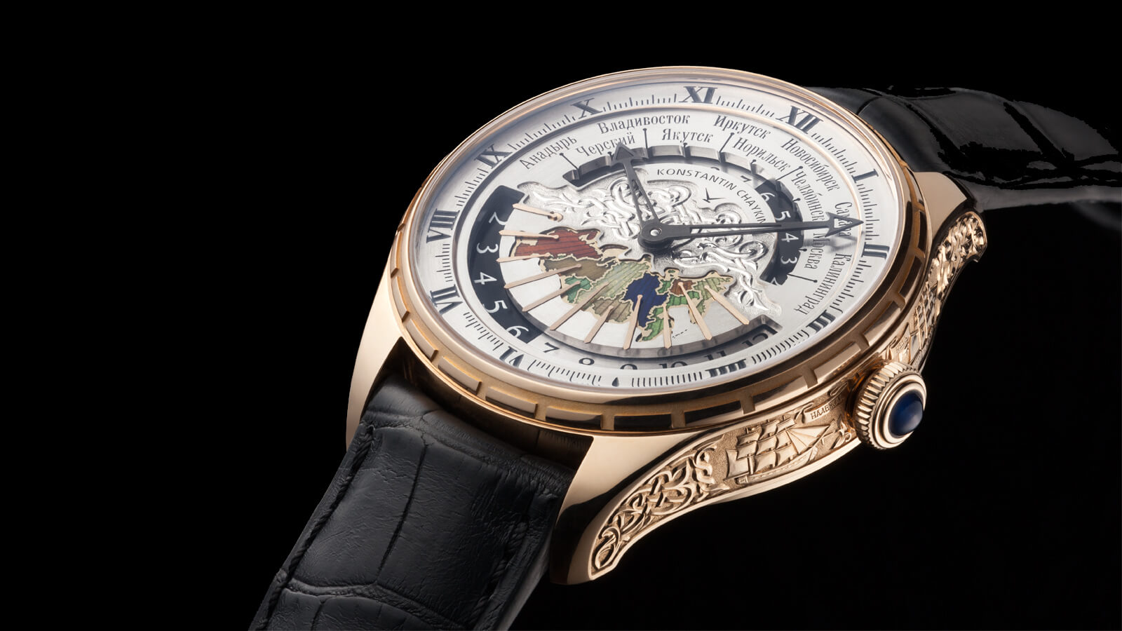Image of Konstantin Chaykin Russian TIme. Krusenstern