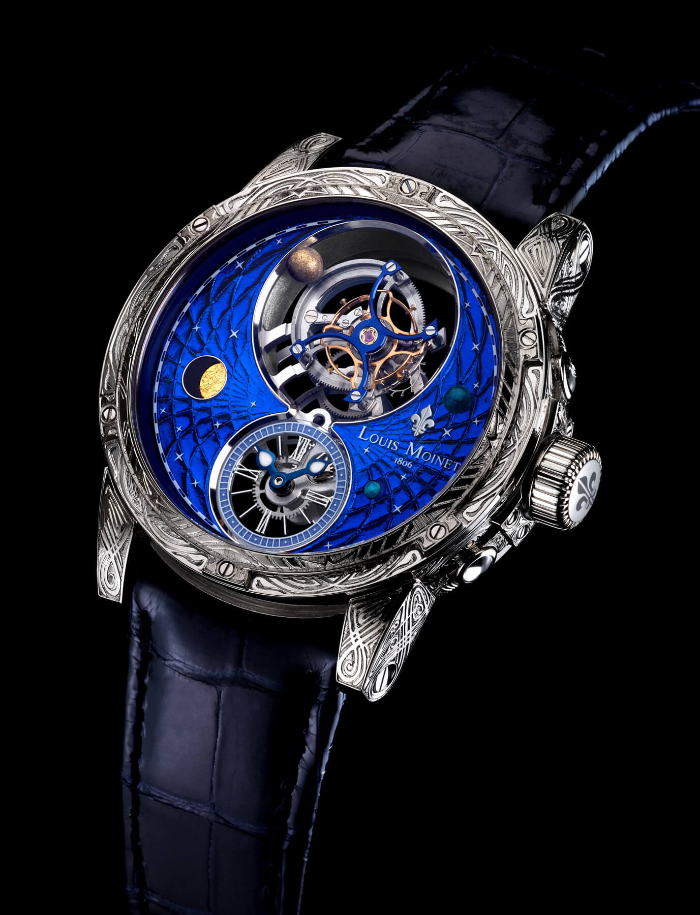 Louis Moinet Space Mystery