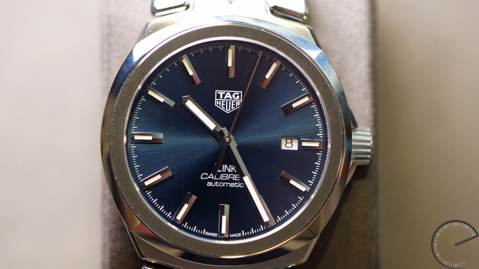 TAG Heuer Steel Link for men Calibre 5