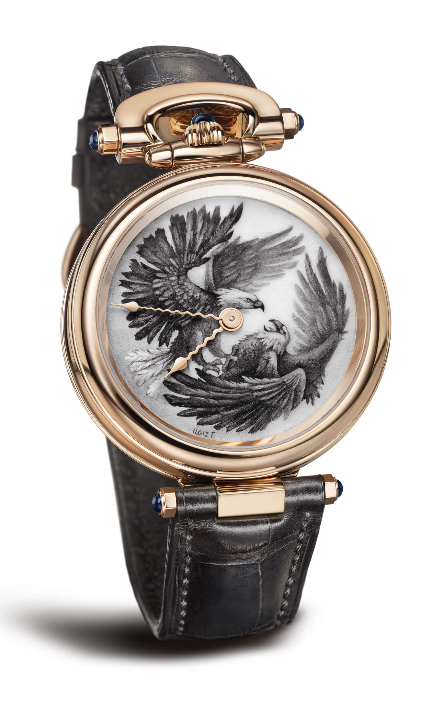 Bovet 1822 Amadeo Fleurier 43 'Two Bald Eagles'