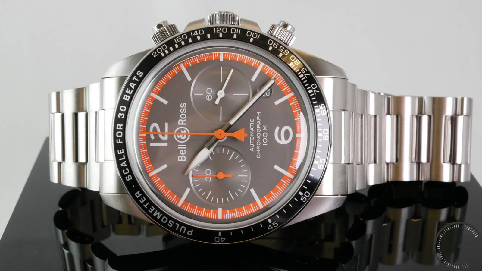 Bell & Ross BR V2-94 Garde-Côtes chronograph with pulsometer scale