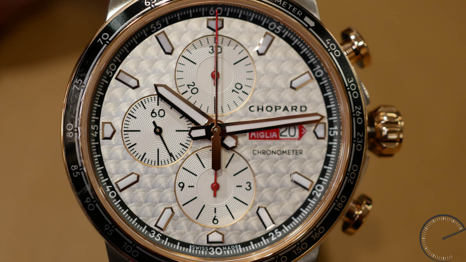 Chopard Mille Miglia Race Edition 2017 - bi-metallic timepiece with chronograph function